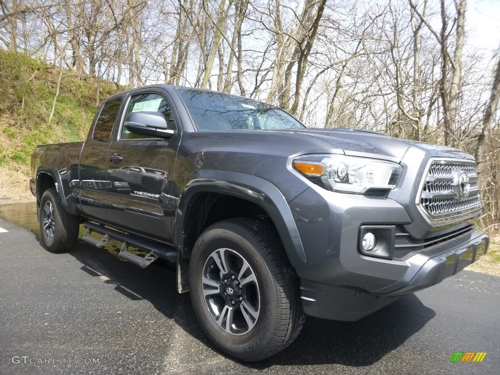 2017 magnetic gray metallic toyota tacoma trd sport access cab 4x4 119771810. Black Bedroom Furniture Sets. Home Design Ideas