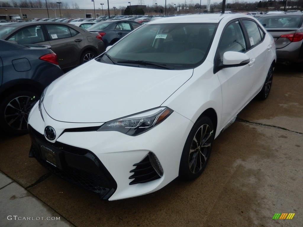 2017 Super White Toyota Corolla Se 119792875 Car Color Galleries