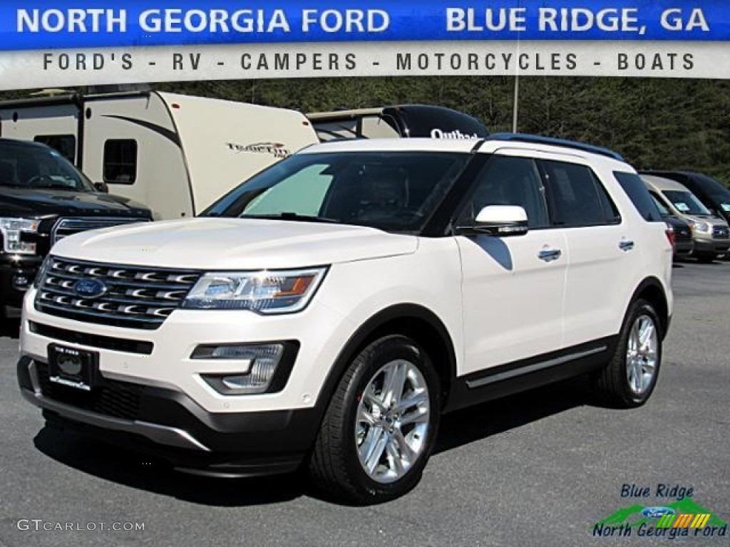 2017 white platinum ford explorer limited 4wd 119792421 photo 38 car color. Black Bedroom Furniture Sets. Home Design Ideas