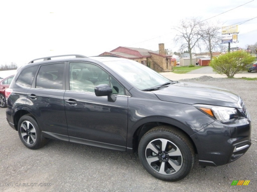 2017 Dark Gray Metallic Subaru Forester 2 5i Limited