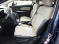 Ivory Front Seat Photo for 2017 Subaru Crosstrek #119829755