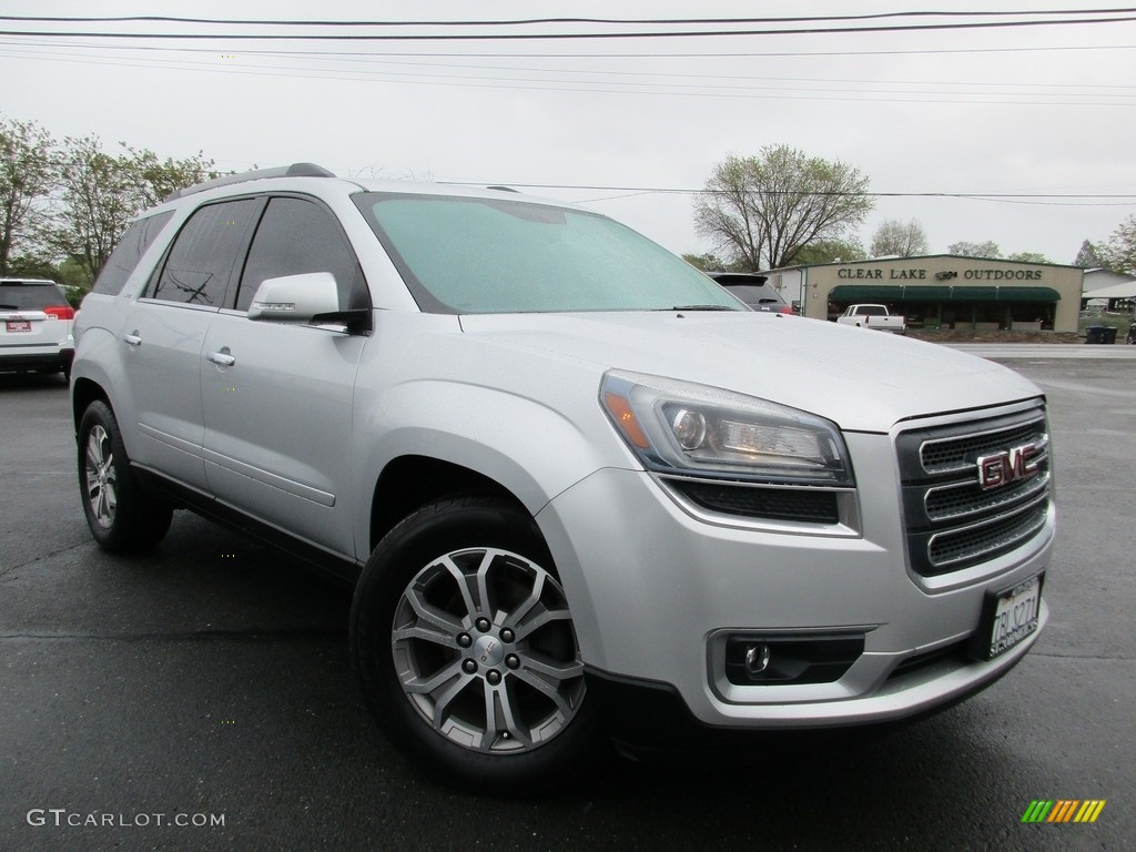 2014 quicksilver metallic gmc acadia slt 119825303 car color galleries. Black Bedroom Furniture Sets. Home Design Ideas