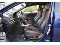 Carbon Black Front Seat Photo for 2016 Subaru WRX #119841590