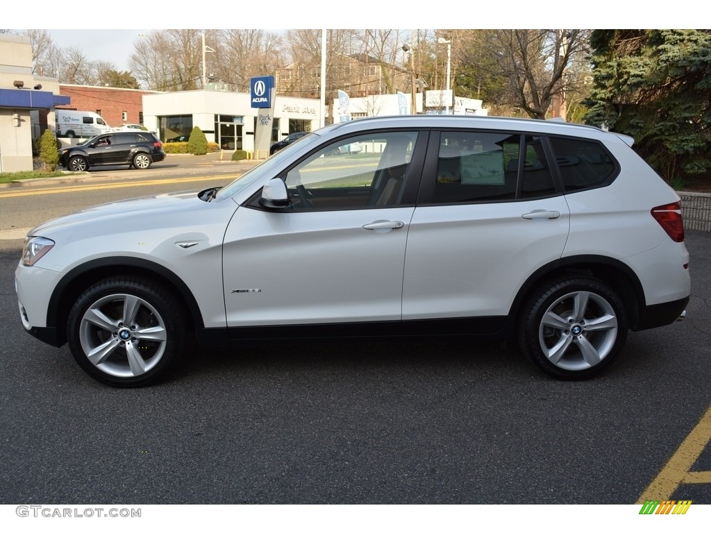 mineral white metallic 2017 bmw x3 xdrive35i exterior. Black Bedroom Furniture Sets. Home Design Ideas