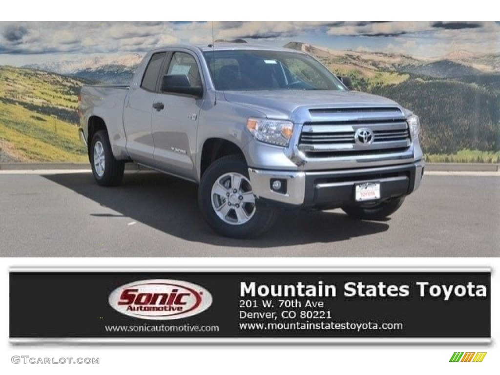 2017 silver sky metallic toyota tundra sr5 double cab 4x4 119847065 photo 4. Black Bedroom Furniture Sets. Home Design Ideas