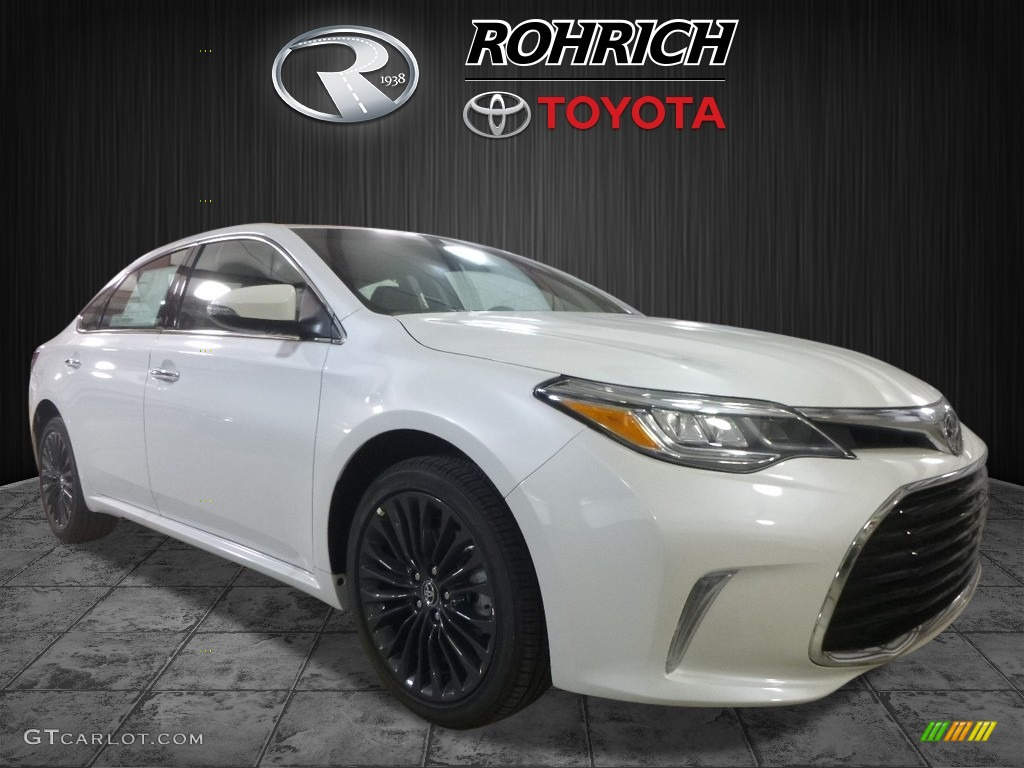 2017 blizzard pearl white toyota avalon touring 119883946 car color galleries. Black Bedroom Furniture Sets. Home Design Ideas