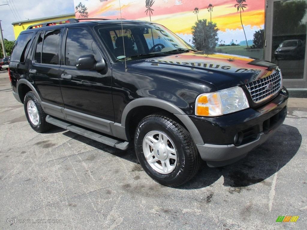 Black 2003 Ford Explorer XLT Exterior Photo #119907760