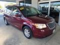 Deep Crimson Crystal Pearlcoat 2008 Chrysler Town & Country Touring