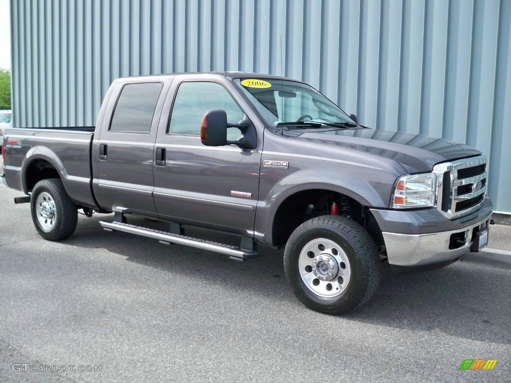 2006 dark shadow gray metallic ford f250 super duty xlt. Black Bedroom Furniture Sets. Home Design Ideas