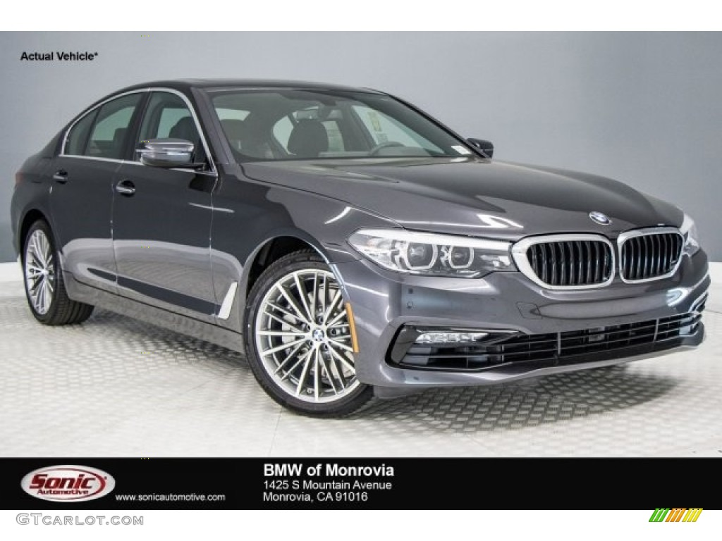 2017 Dark Graphite Metallic Bmw 5 Series 530i Sedan 119909442 Gtcarlot Com Car Color Galleries