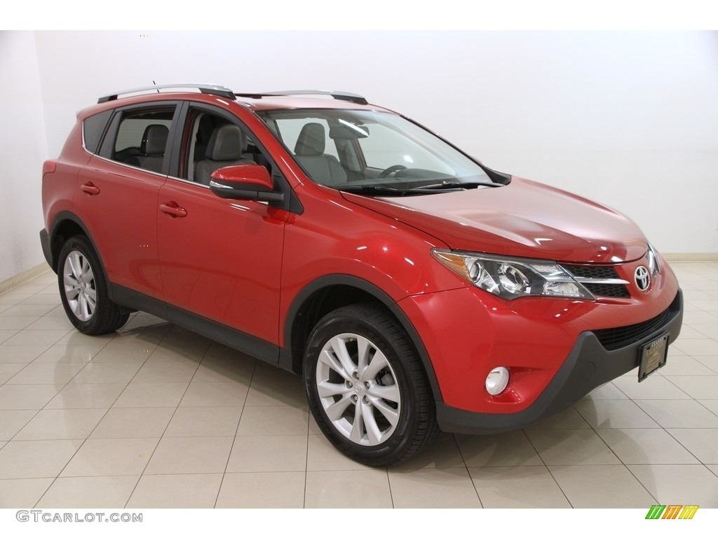2013 barcelona red metallic toyota rav4 limited awd 119925961 car color galleries. Black Bedroom Furniture Sets. Home Design Ideas
