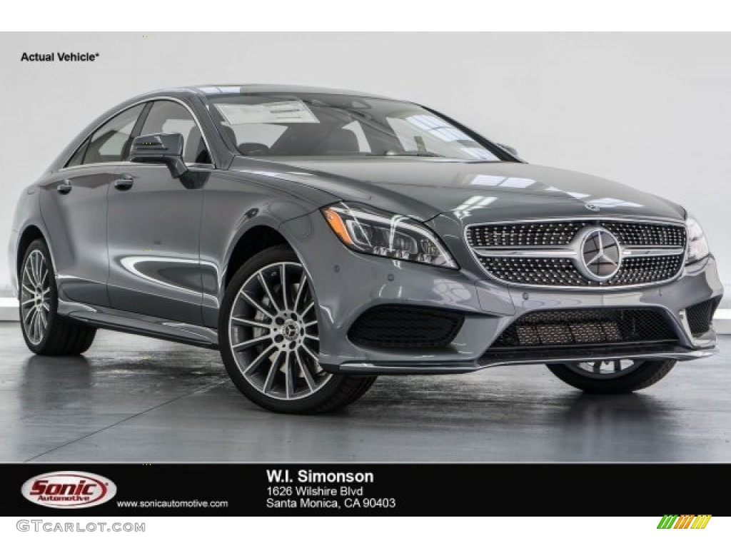 2017 selenite grey metallic mercedes benz cls 550 coupe for Mercedes benz cl 550