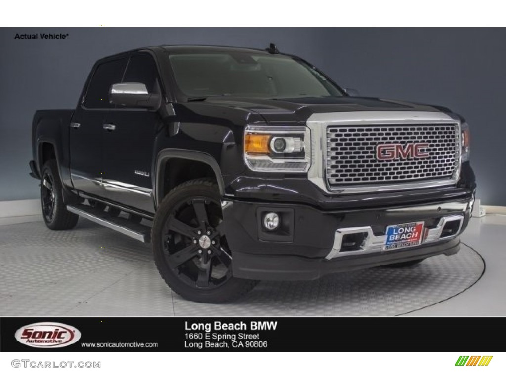2015 onyx black gmc sierra 1500 denali crew cab 4x4 119970724 car color galleries. Black Bedroom Furniture Sets. Home Design Ideas