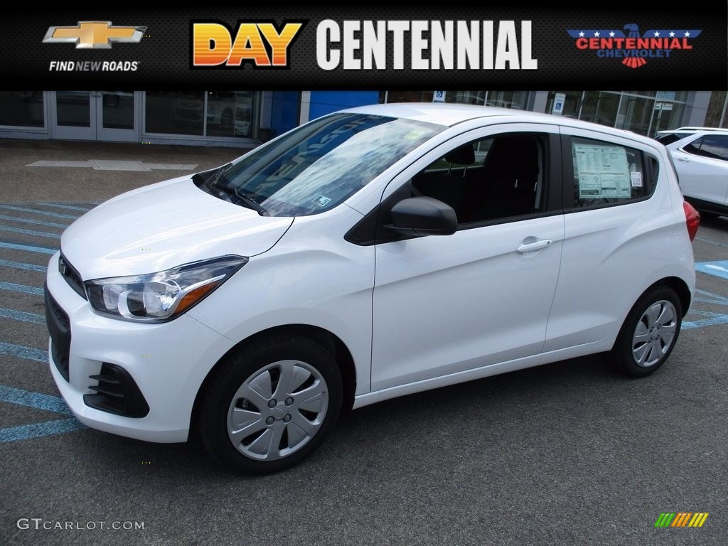 2017 Summit White Chevrolet Spark LS #119970638 Photo #19 ...