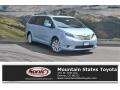 Sky Blue Pearl 2017 Toyota Sienna Limited AWD