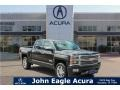 Brownstone Metallic 2014 Chevrolet Silverado 1500 High Country Crew Cab 4x4
