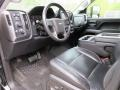 Jet Black/Dark Ash 2015 Chevrolet Silverado 2500HD Interiors