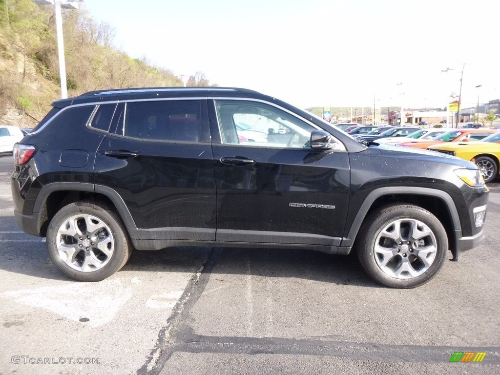 Black 2017 Jeep Compass Limited 4x4 Exterior Photo ...