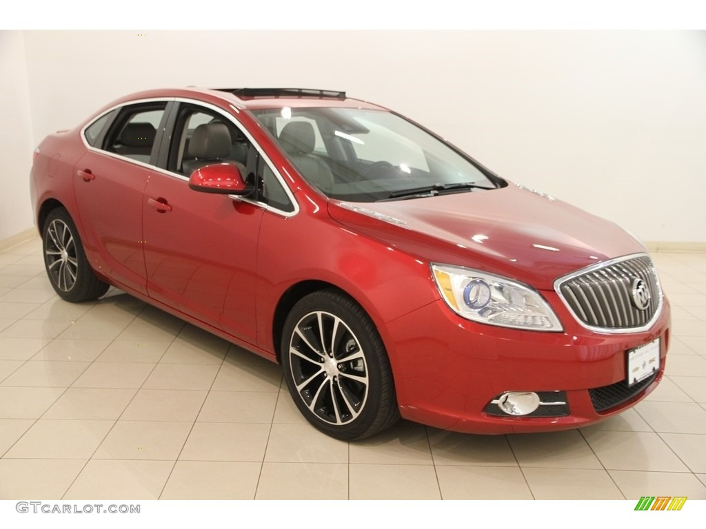 2017 crystal red tintcoat buick verano sport touring. Black Bedroom Furniture Sets. Home Design Ideas