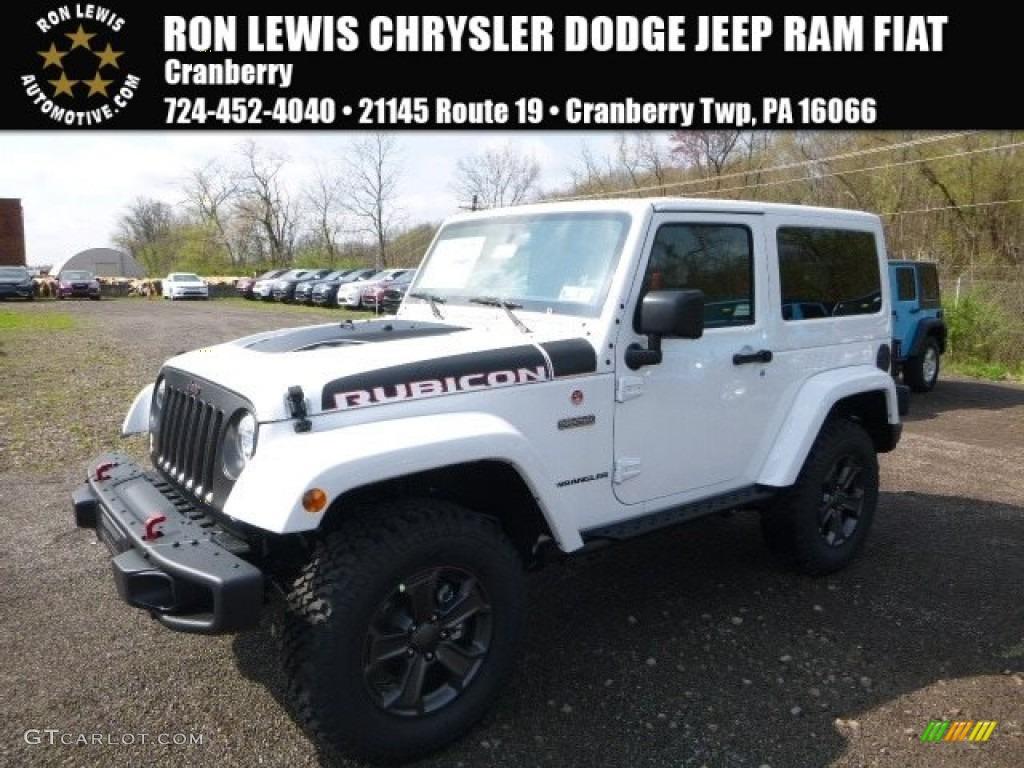 2017 jeep wrangler rubicon recon white