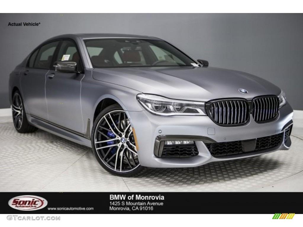 2017 frozen grey metallic bmw 7 series 750i sedan #119989268