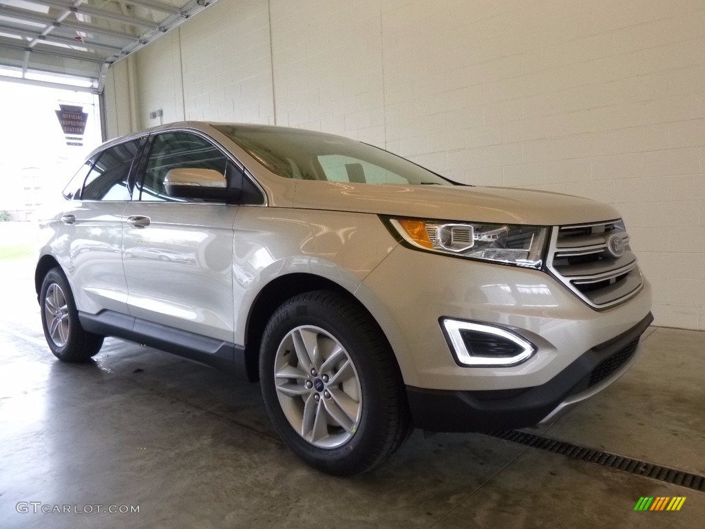 2017 white gold metallic ford edge sel awd 120018171 car color galleries. Black Bedroom Furniture Sets. Home Design Ideas