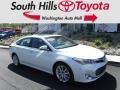 Blizzard White Pearl 2013 Toyota Avalon Limited