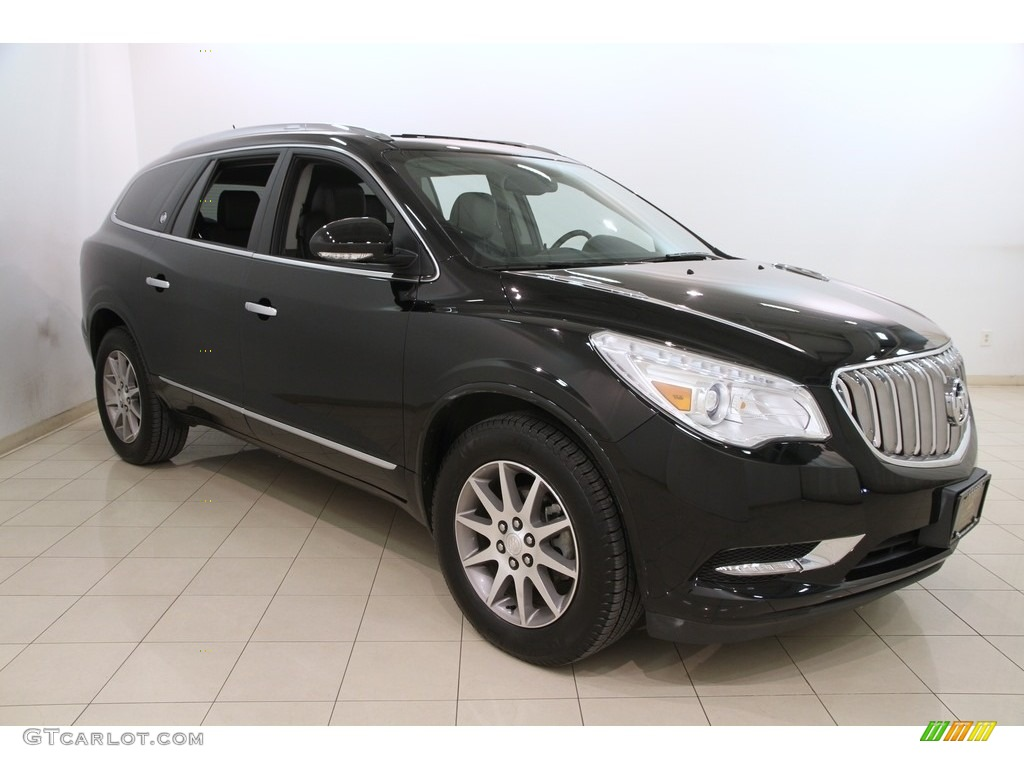 2017 ebony twilight metallic buick enclave leather awd 120018438 photo 23 car. Black Bedroom Furniture Sets. Home Design Ideas