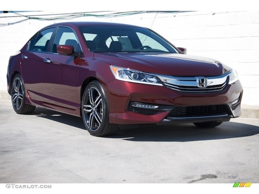 2017 Basque Red Pearl II Honda Accord Sport Special