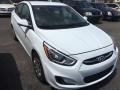 Century White 2017 Hyundai Accent SE Sedan