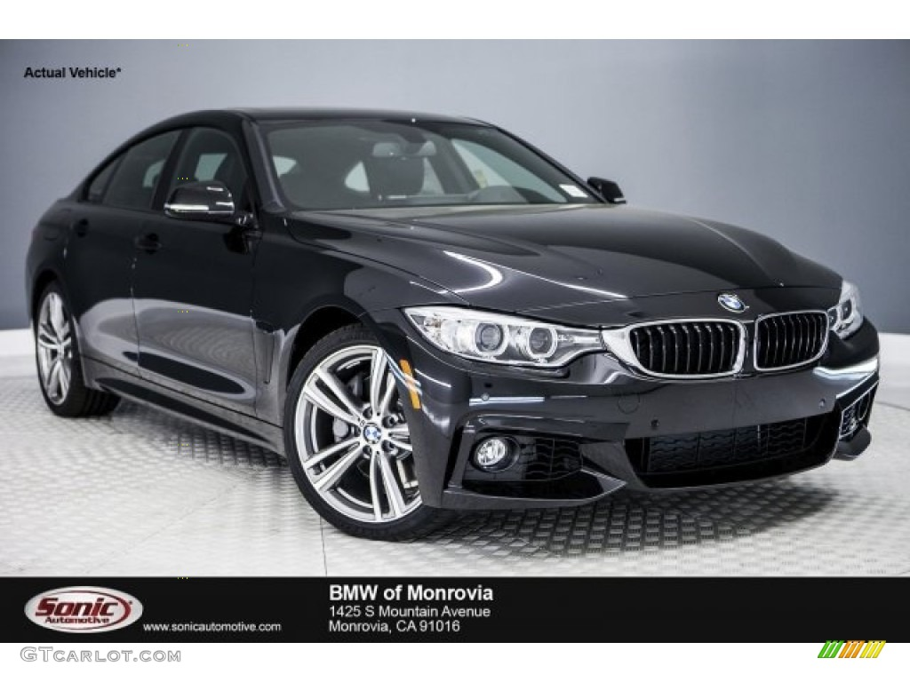 2017 black sapphire metallic bmw 4 series 440i gran coupe. Black Bedroom Furniture Sets. Home Design Ideas