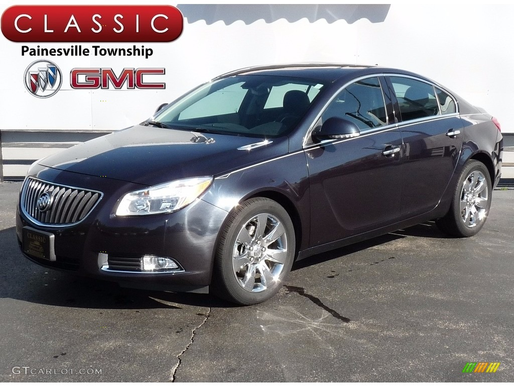 2013 graphite blue metallic buick regal turbo 120065401