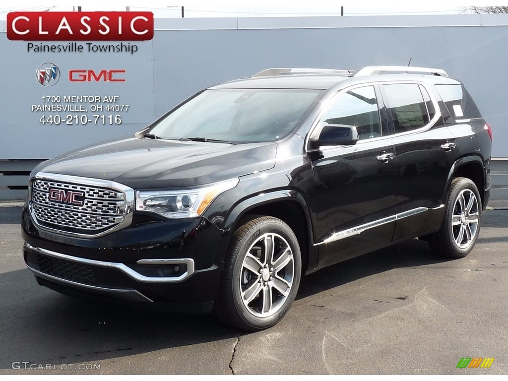 2017 Acadia Denali Awd Ebony Twilight Metallic Jet Black Photo 1