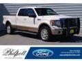 White Platinum Metallic Tri-Coat 2012 Ford F150 King Ranch SuperCrew 4x4