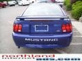 2003 Sonic Blue Metallic Ford Mustang V6 Coupe  photo #3