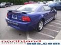 2003 Sonic Blue Metallic Ford Mustang V6 Coupe  photo #4