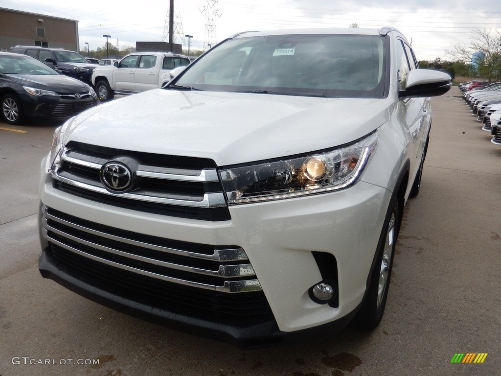 2017 blizzard white pearl toyota highlander limited awd 120125837 photo 5 car. Black Bedroom Furniture Sets. Home Design Ideas