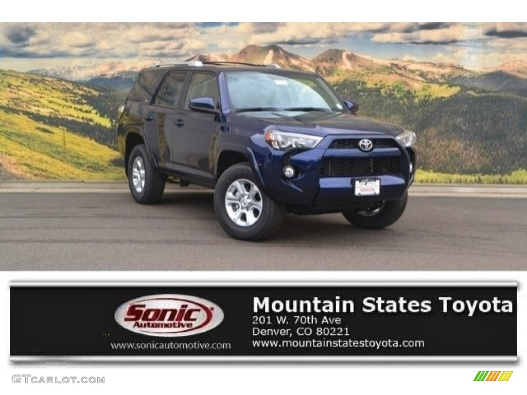 2017 nautical blue metallic toyota 4runner sr5 4x4 120125493 photo 5 car. Black Bedroom Furniture Sets. Home Design Ideas