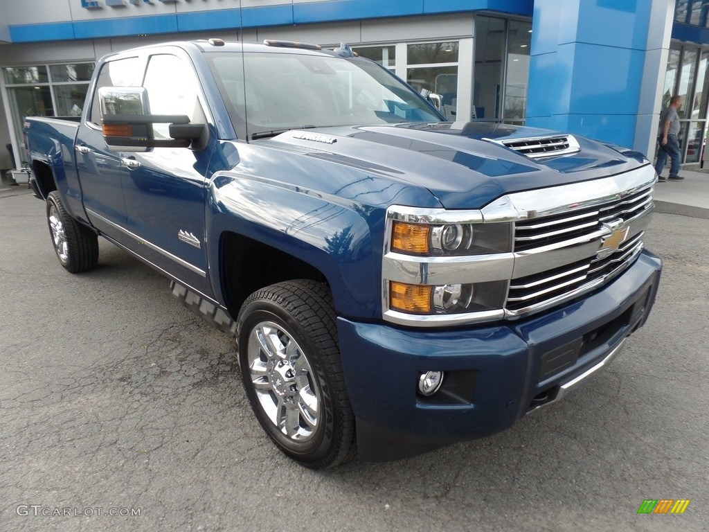 2017 deep ocean blue metallic chevrolet silverado 2500hd. Black Bedroom Furniture Sets. Home Design Ideas