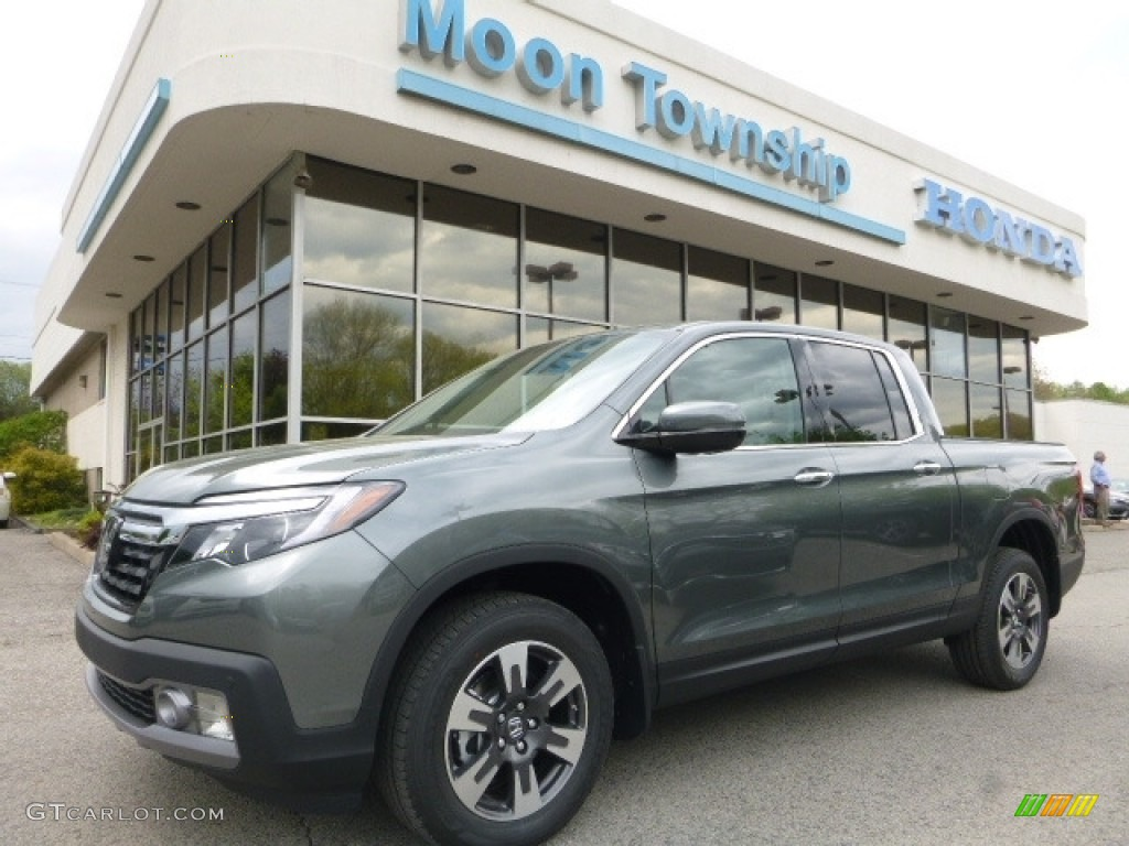 2017 Forest Mist Metallic Honda Ridgeline Rtl E Awd 120125738 Car Color Galleries