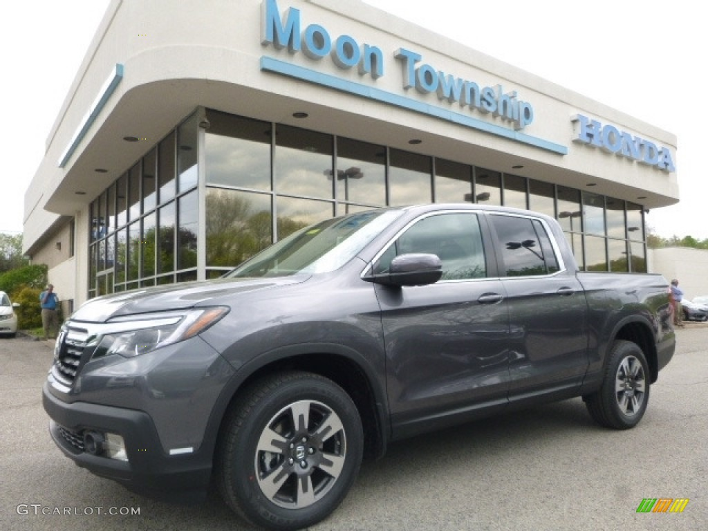 2017 Modern Steel Metallic Honda Ridgeline Rtl T Awd 120125737 Car Color Galleries