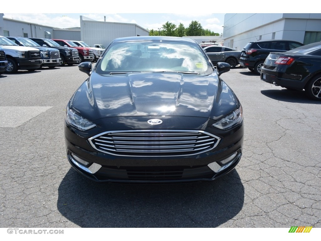 2017 Fusion S - Shadow Black / Ebony photo #4