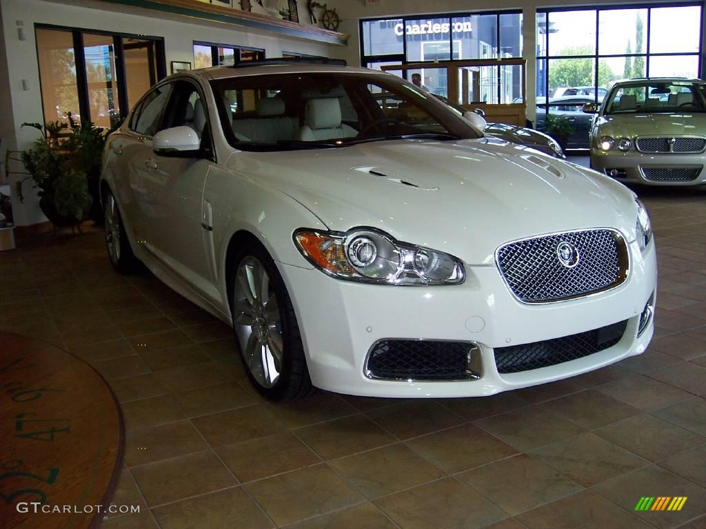 2010 porcelain white jaguar xf xfr sport sedan 11985837 car color galleries. Black Bedroom Furniture Sets. Home Design Ideas