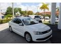 2014 Pure White Volkswagen Jetta SE Sedan #120155219