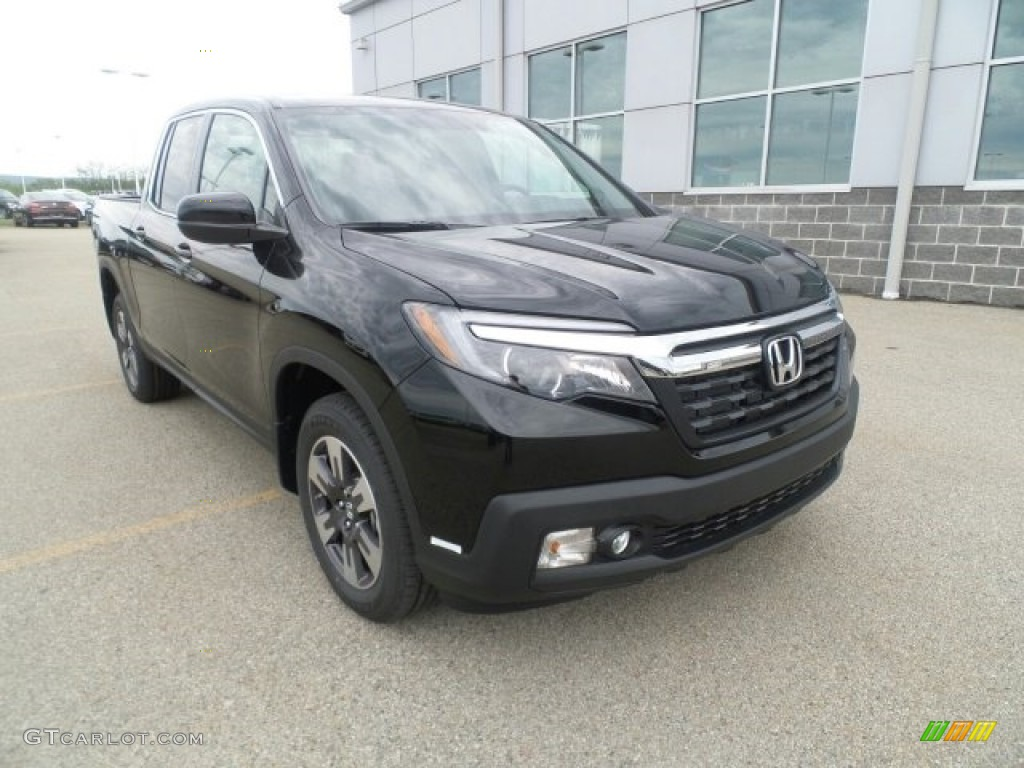2017 Crystal Black Pearl Honda Ridgeline Rtl Awd 120194485 Car Color Galleries
