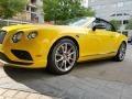 Monaco Yellow 2016 Bentley Continental GTC V8