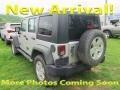 Bright Silver Metallic 2008 Jeep Wrangler Unlimited X 4x4
