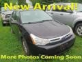Black 2008 Ford Focus SE Sedan