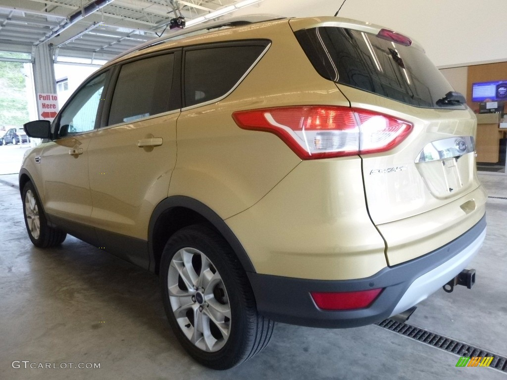 2014 Escape Titanium 2.0L EcoBoost 4WD - Karat Gold / Charcoal Black photo #4