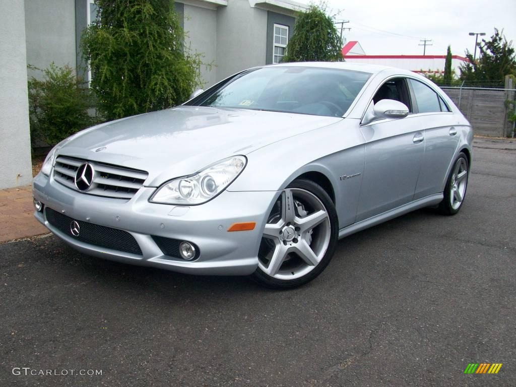 2006 iridium silver metallic mercedes benz cls 55 amg. Black Bedroom Furniture Sets. Home Design Ideas